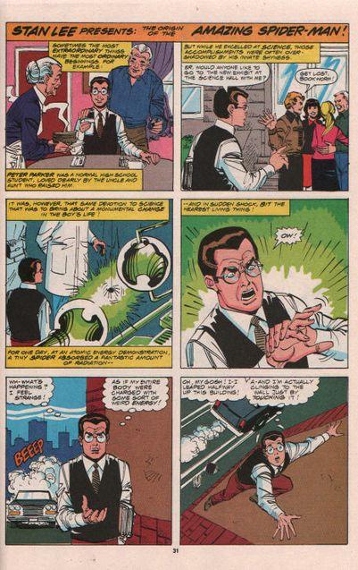 Comics Les origines de Spider-Man