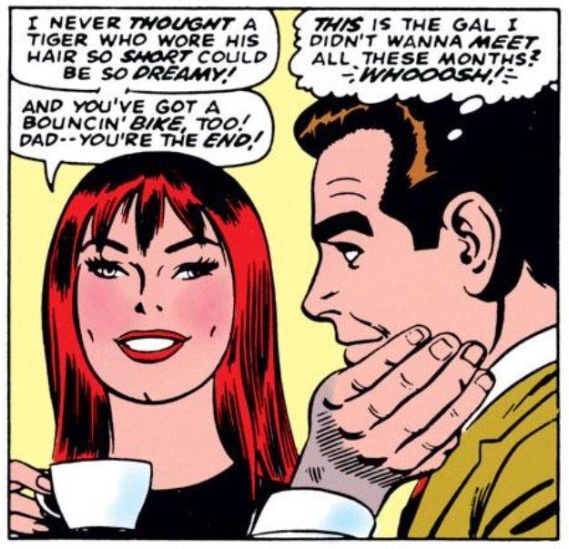 Comics Mary Jane Watson et Peter Parker