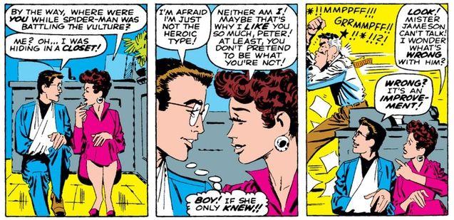 Comics Peter Parker et Betty Brant