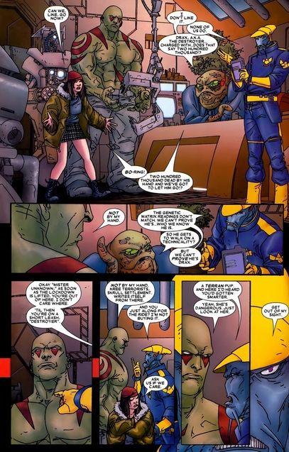Comics Drax