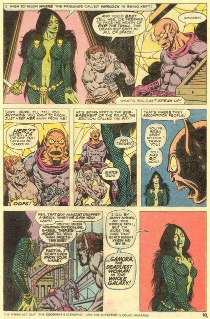 Comics Gamora
