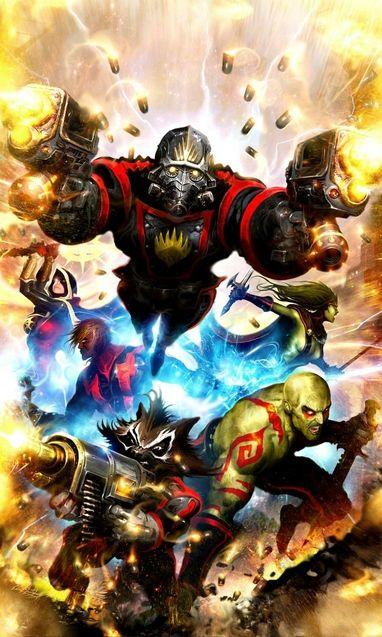 Comics Les Gardiens de la galaxie