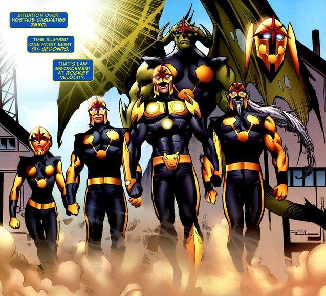 Comics Nova Corps