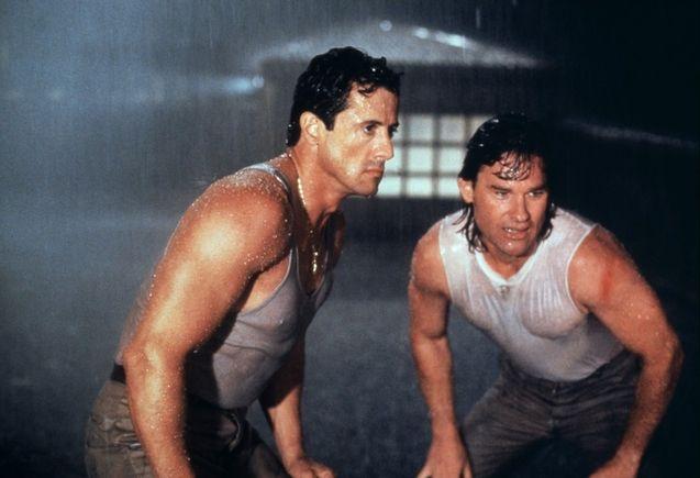 Photo Kurt Russell, Sylvester Stallone