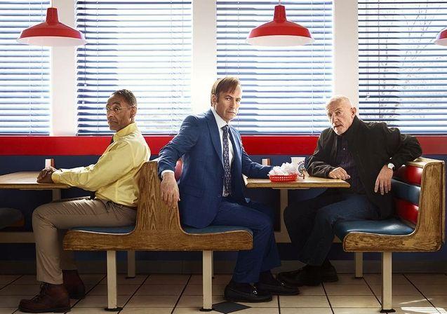 Photo Bob Odenkirk, Jonathan Banks, Giancarlo Esposito