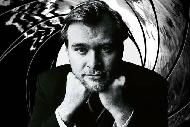 Photo Christopher Nolan James Bond
