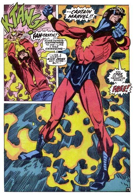 Comics Captain Mar-Vell