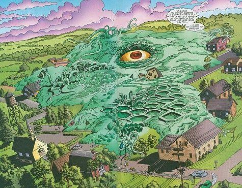 Comics Ego sur Terre
