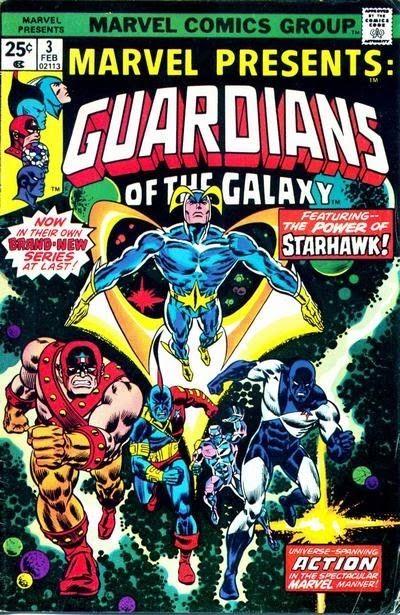 Comics Les Gardiens de la galaxie originaux
