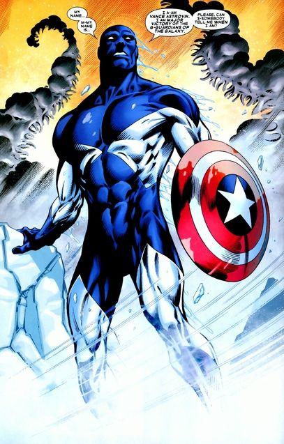 Comics Vance Astro alias Major Victory