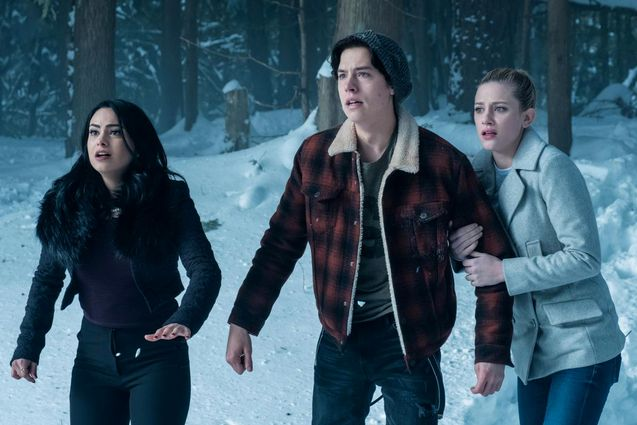 Photo Cole Sprouse, Lili Reinhart,Camila Mendes