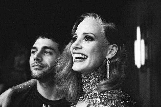 Photo Xavier Dolan, Jessica Chastain