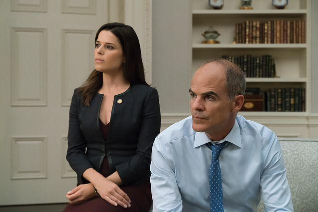 Photo Neve Campbell, Michael Kelly