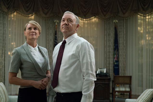 Photo Robin Wright, Kevin Spacey
