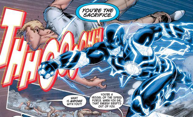 Comics Flash vs Flash