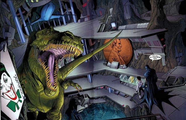 Comics Bat-Cave