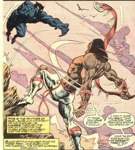 Comics Erik Killmonger