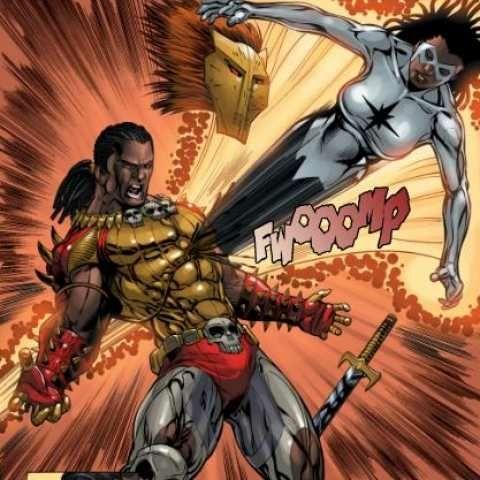 Comics Erik Killmonger vs Photon