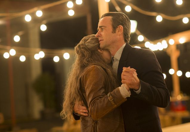 Photo Carrie Coon, Justin Theroux