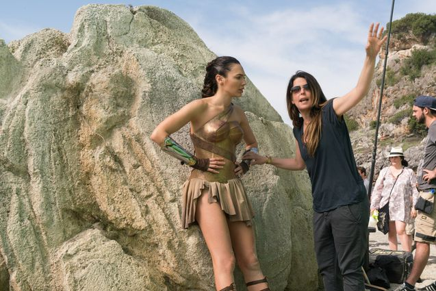 Photo Gal Gadot, Patty Jenkins