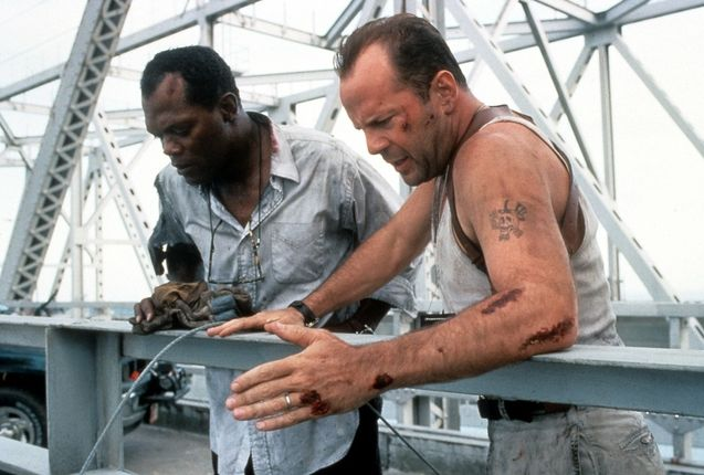 Photo Bruce Willis, Samuel L. Jackson