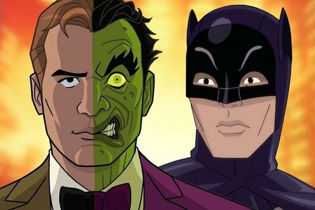 Photo Batman vs Two Face
