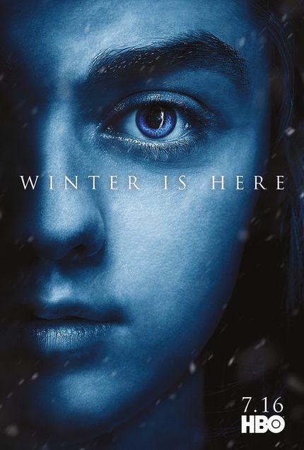Affiche Arya Stark, Maisie Williams