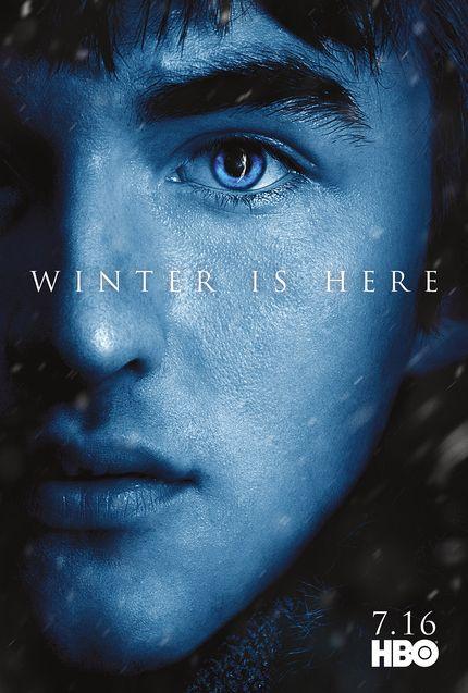 Affiche Bran Stark, Isaac Hempstead Wright