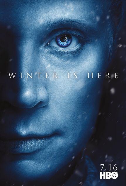 Affiche Brienne de Torth, Gwendoline Christie
