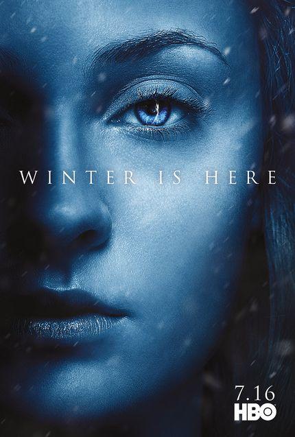 Affiche Sansa Stark, Sophie Turner