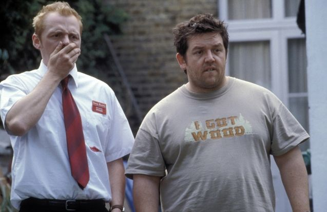 Photo Simon Pegg, Nick Frost