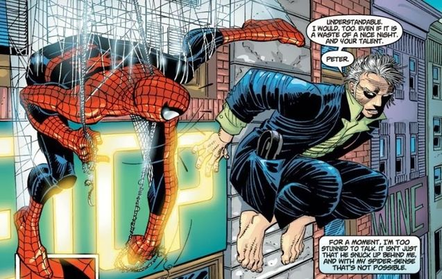 Comics Spider-Man et Ezekiel