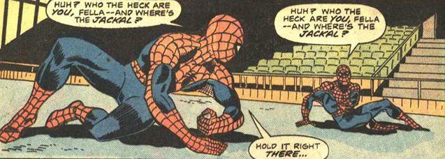 Comics Spider-Man et son clone