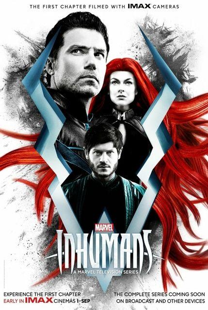 Affiche The Inhumans saison 1