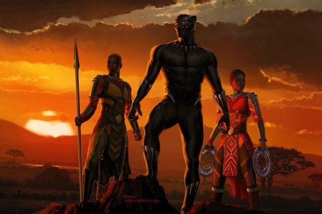 Photo artwork black panther