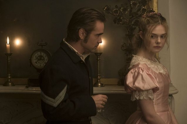 Photo Colin Farrell, Elle Fanning
