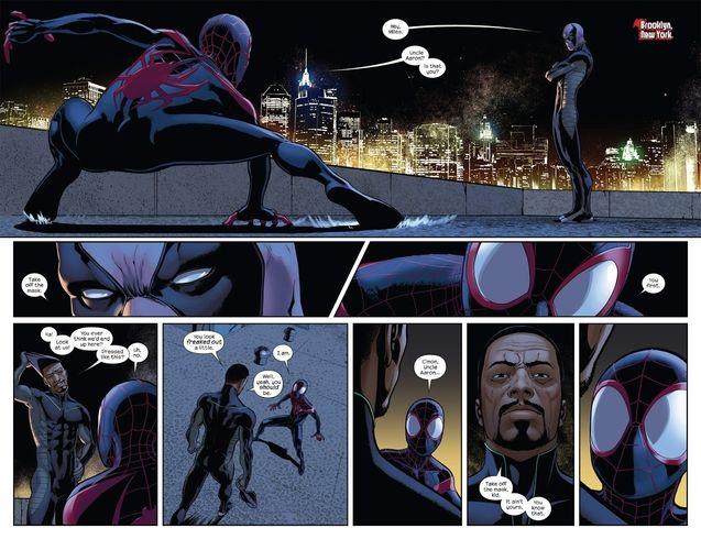 Comics Aaron Davis et Miles Morales