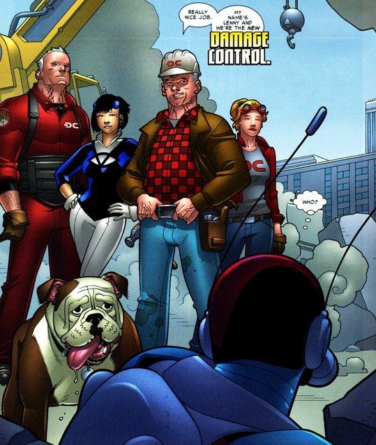 Comics Damage Control