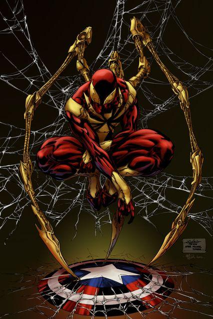 Comics Iron Spider