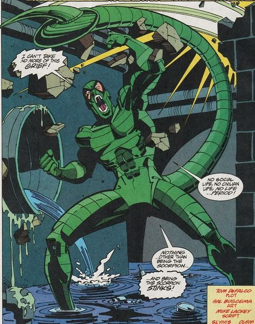 Comics Le Scorpion