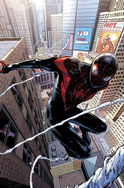 Comics Miles Morales alias Spider-Man