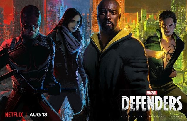 Photo , The Defenders saison 1