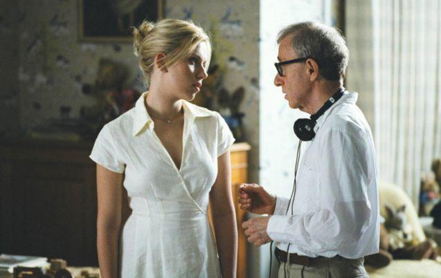 Photo Scarlett Johansson, Woody Allen