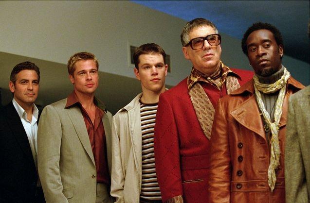 Photo George Clooney, Brad Pitt, Elliott Gould, Don Cheadle, Matt Damon