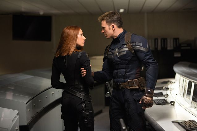 Photo Chris Evans, Scarlett Johansson