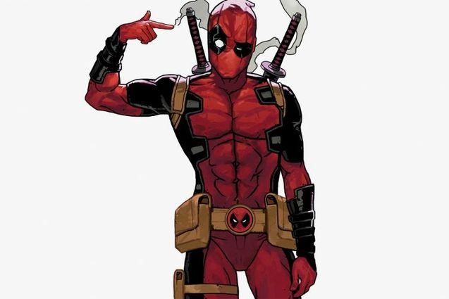 Photo Deadpool animated