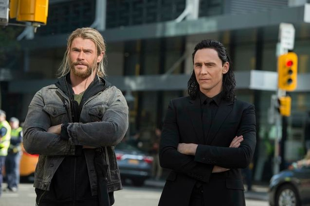 Photo Chris Hemsworth, Tom Hiddleston