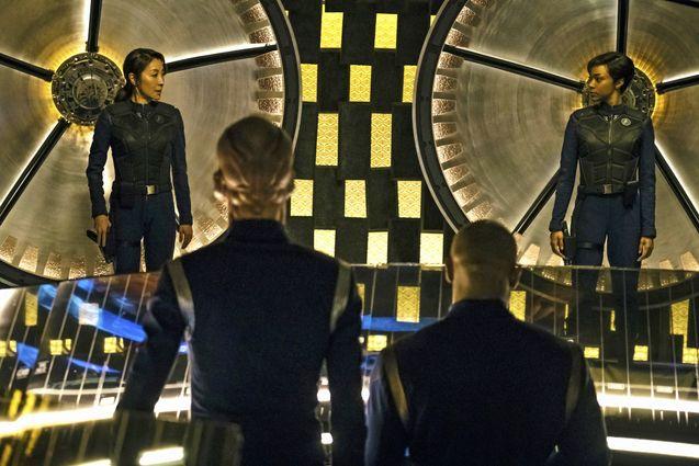 Photo Sonequa Martin-Green, Star Trek : Discovery, Michelle Yeoh