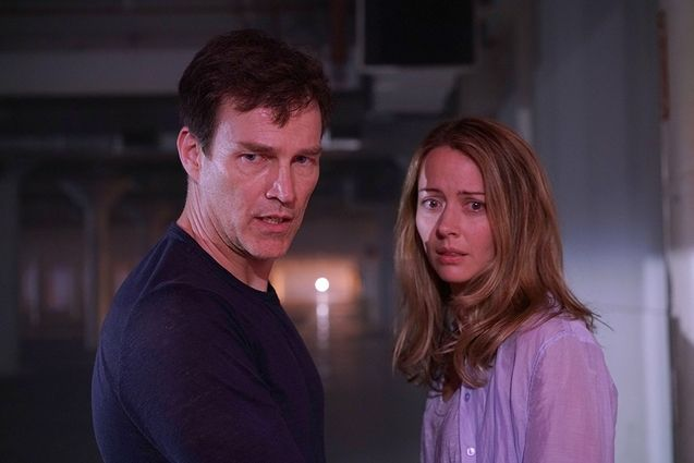 Photo Amy Acker, Stephen Moyer, The Gifted saison 1