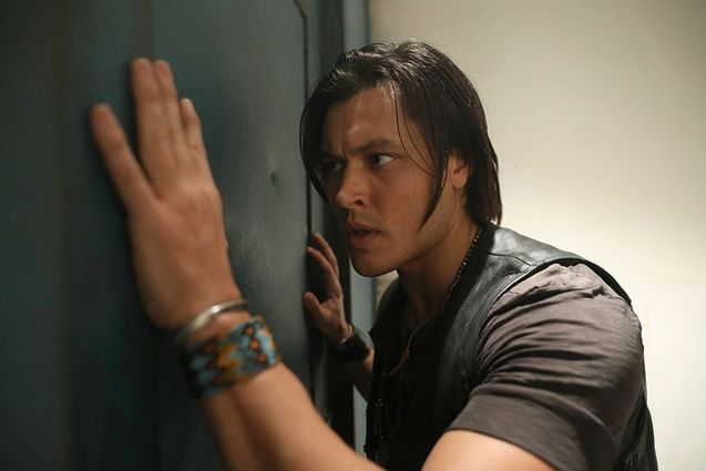 Photo Blair Redford, The Gifted saison 1